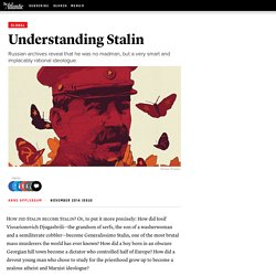 Understanding Stalin