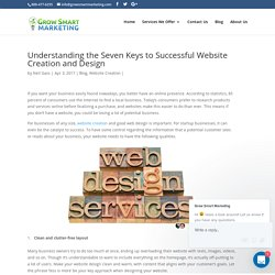 Understanding the Seven Keys to Successful Website Creation and Design