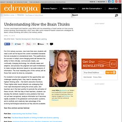 Understanding How the Brain Thinks