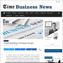 Understanding Tie-Down Straps