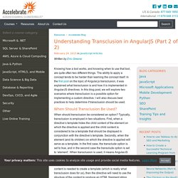 Understanding Transclusion in AngularJS (Part 2 of 2)