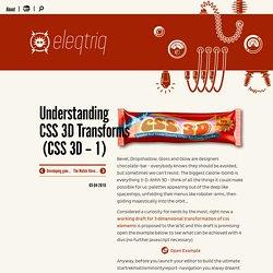 Understanding CSS 3D Transforms 1
