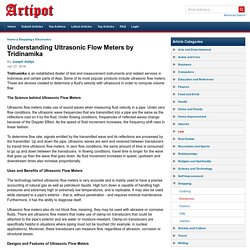 Understanding Ultrasonic Flow Meters by Tridinamika