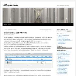 Understanding UCS VIF Paths