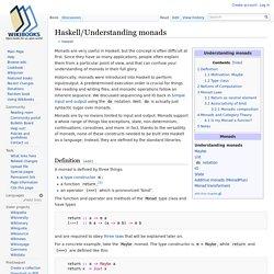 Haskell/Understanding monads
