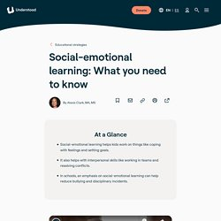 Social Emotional Learning: What to Know
