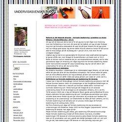 Referat av Att följande lärande – formativ bedömning i praktiken av Dylan Wiliams