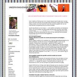 Läs- och skrivprojekt med utgångspunkt från Kulor i hjärtat
