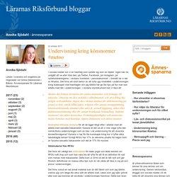 Undervisning kring könsnormer #metoo - Annika Sjödahl