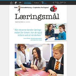 06 Undervisning i England: Læringsmål