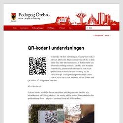 QR-koder i undervisningen