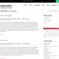 Undervisningstips – NODSTRÖM EDUCATION