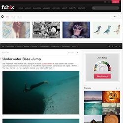Underwater Base Jump