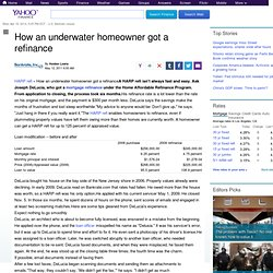 How an underwater homeowner got a refinance
