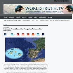 Underwater Pyramid Found Near Portugal Has Portuguese Navy Investigating