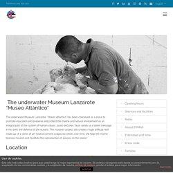 "The underwater Museum Lanzarote ""Museo Atlántico"""