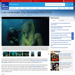 Lost Underwater City Uncovered (PHOTOS)