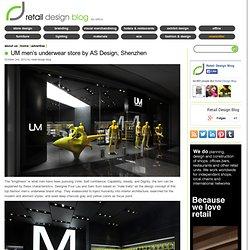 UM men's underwear store by AS Design, Shenzen