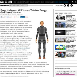 Darpa Underwear Will 'Harvest' Soldiers' Energy, Give Them Killer Abs | Danger Room