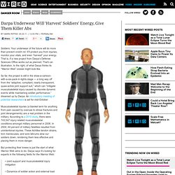 Darpa Underwear Will 'Harvest' Soldiers' Energy, Give Them Killer Abs