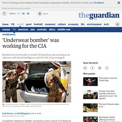 'Underwear bomber' was working for the CIA