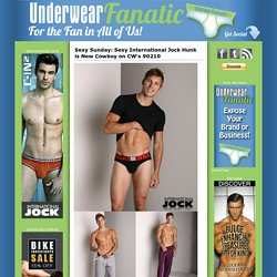 Men's Underwear & Swimwear Blog: Television