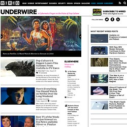 Underwire - Taking the Pulse of Pop Culture