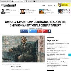 House of Cards: Frank Underwood portrait unveiled at Smithsonian National Portrait Gallery