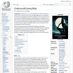 Underworld (2003 film)