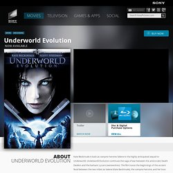 Underworld: Evolution - Official DVD Site