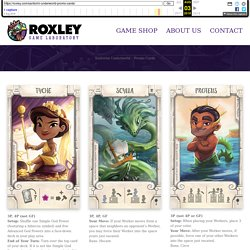 Santorini Underworld – Promo Cards – Roxley Game Laboratory