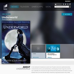 Underworld - Official DVD Site