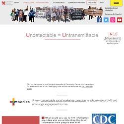Undetectable = Untransmittable