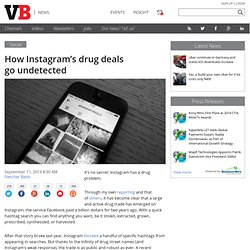How Instagram's drug deals go undetected