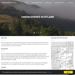 Undiscovered Scotland: Home Page