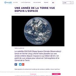 Une année de la Terre vue depuis l'espace - Cité de l'Espace