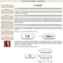 Une base NoSQL: Cassandra - Le NoSQL