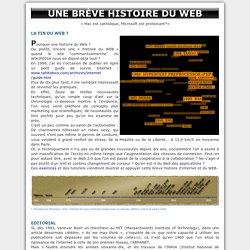 Une brève histoire du Web