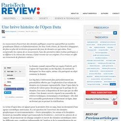 Une brève histoire de l'Open Data
