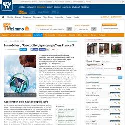 """""""Une bulle gigantesque"""" en France ? - Prix de l'immobilier"""