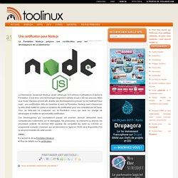 Une certification pour Node.js