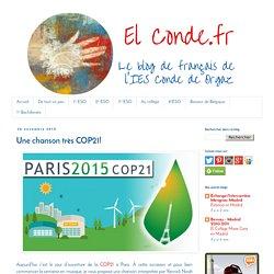 Une chanson très COP21!