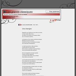 Une charogne, Baudelaire