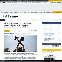 Une Egypte sans les coptes ne pourrait plus être l'Egypte