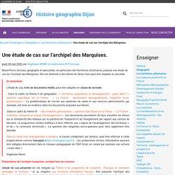 Une étude de cas sur l'archipel des Marquises.