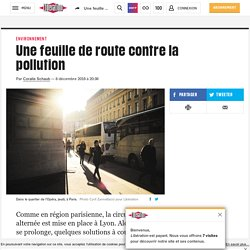 Une feuille de route contre la pollution