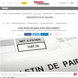Une fiche de paie enfin plus lisible?
