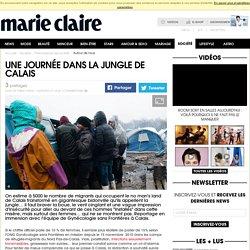 Une journée dans la jungle de Calais