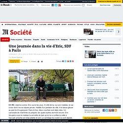 Une journée dans la vie d'Eric, SDF à Paris