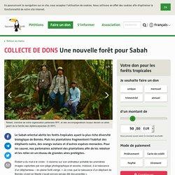 Une nouvelle forêt pour Sabah